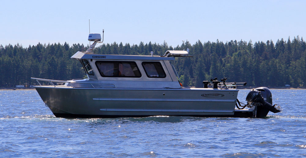 Northwest Aluminum Craft boat on the water