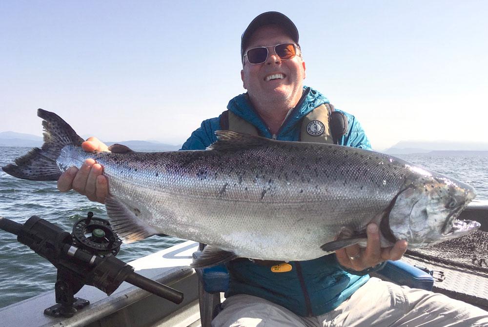 salmon fishing island books vancouver